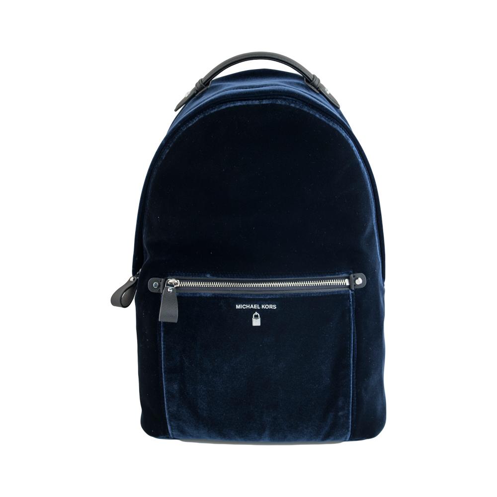 Michael Kors Σακίδιο Πλάτης ( Backpack ) Μπλε Βελούδο ( Admiral ... 3449b85b935