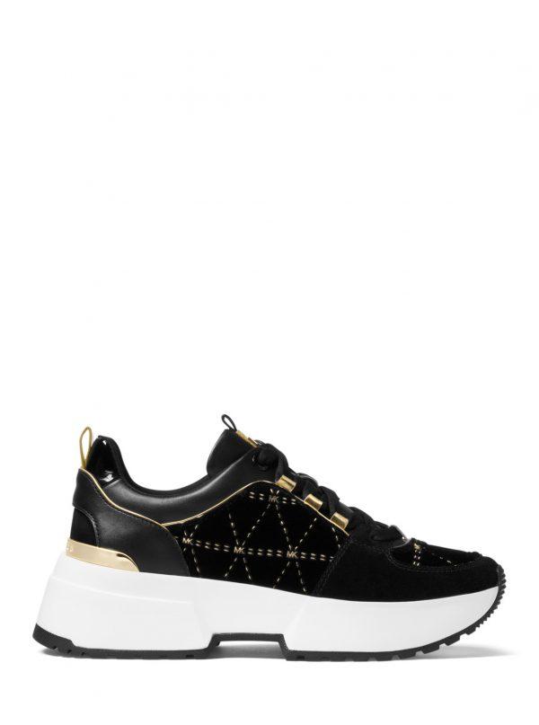d90f00b104 Michael Kors Γυναικεια Παπουτσια ( Cosmo Cosmo Trainer ) Μαυρο ( Black )
