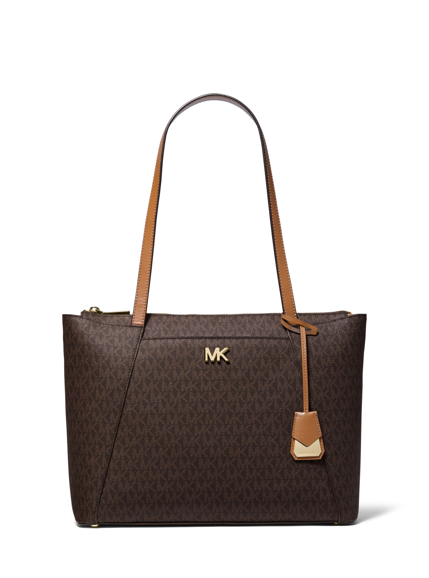 4e125e4fd7 Michael Kors Γυναικεία Τσάντα Ώμου ( Shoulder Bag   Maddie MD EW TZ Tote  LOGO ) Καφέ ( Brown   Acorn )