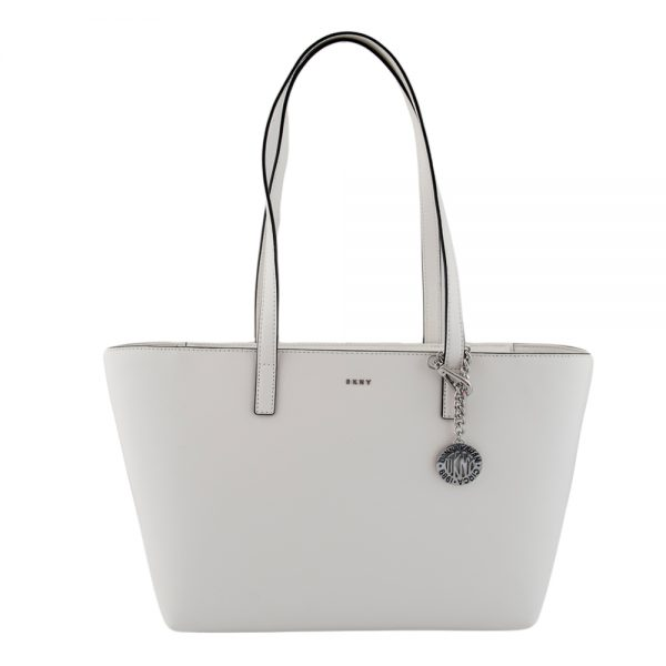 453ac56d37 DKNY Γυναικεια Τσαντα Ωμου ( Bryant-MD Tote Sutton ) Λευκο ( White ) €208.00